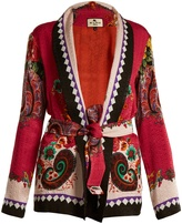 Etro Giacca floral and paisley-print cloqué jacket