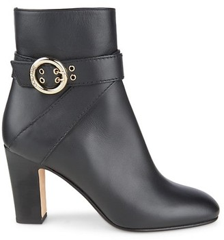 Jimmy Choo Blanka Leather Ankle Boots