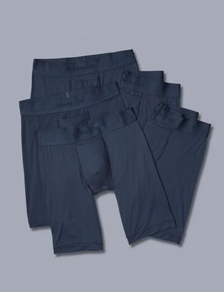 Tommy John Air Mesh Boxer Brief 5 Pack, Dress Blues
