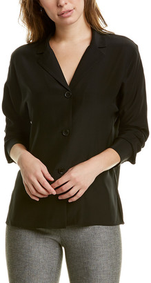 Lafayette 148 New York Mariabella Silk Blouse
