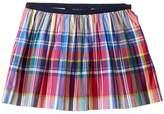 Polo Ralph Lauren Yarn-Dyed Poplin Plaid Skirt (Toddler)