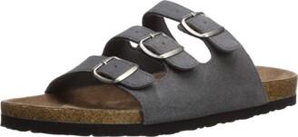Northside Women's Prisha Sandal Gray 8 M US