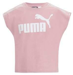 Puma Girl's Cap Sleeve Tee