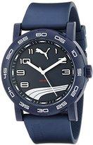 Puma Unisex PU103201012 Move II Analog Display Quartz Blue Watch