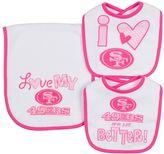 Gerber Baby San Francisco 49ers 3-Piece Bib & Burpcloth Set