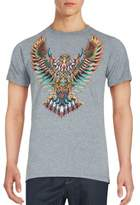 Riot Society Owl Print Short Sleeve Tee