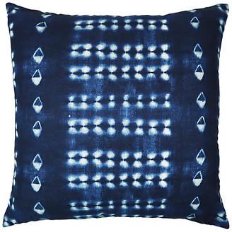 The Piper Collection Skyler 22x22 Pillow - Indigo