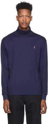 Polo Ralph Lauren Navy Soft Touch Turtleneck