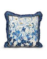 """Jay Strongwater Poppy 20""""Sq. Pillow"""