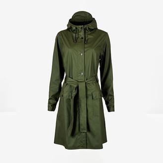 Rains Curve Jacket Green - polyester | green | M/L - Green/Green