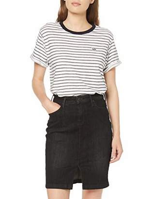 Lee Women's Stripe TEE T-Shirt,M