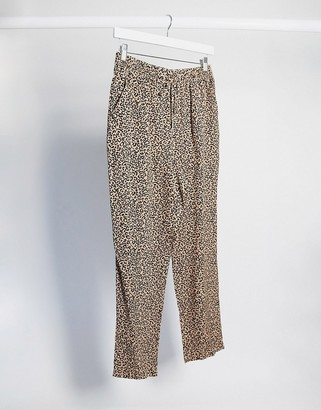 New Look jogger in animal print
