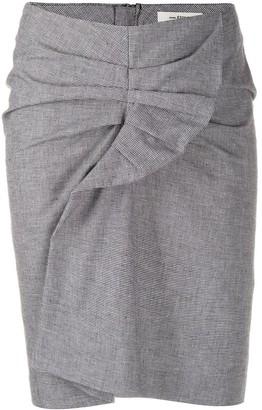 Etoile Isabel Marant Ines houndstooth mini skirt