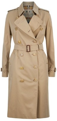 Burberry Long Kensington Heritage Trench Coat