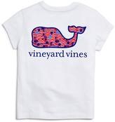Vineyard Vines Girls' Stars & Whales Pocket Tee