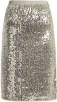 Vanessa Bruno Gloria sequin-embellished pencil skirt