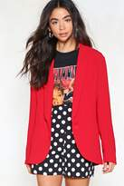 Nasty Gal nastygal Do Your Thing Relaxed Blazer