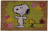 "Peanuts Floral"" Welcome Doormat"