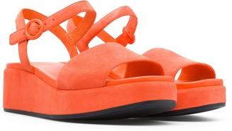 Camper Right Nina Platform Sandal
