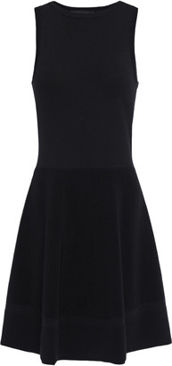 Moschino Flared Stretch-knit Dress