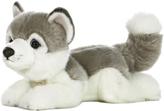 Aurora World Husky Plush Toy