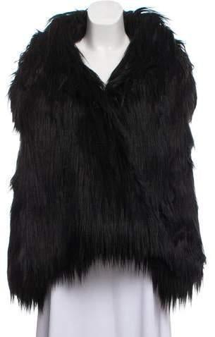 Stella McCartney Faux Fur Reversible Vest w/ Tags