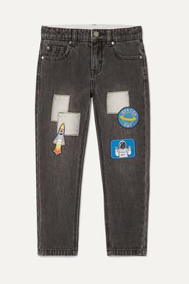 Stella McCartney Appliqued Jeans - Blue