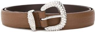 Orciani jewel buckle belt