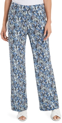 Vince Camuto Peony Fields Pull-On Ponte Pants