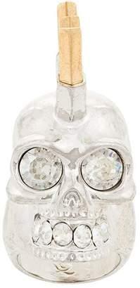 Alexander McQueen punk skull ring