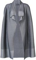Issey Miyake waterfall jacket - women - Nylon/Polyester/Polyurethane - 3