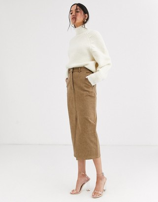 ASOS wool blend statement sleeve