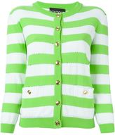 Moschino striped cardigan - women - Cotton - 44