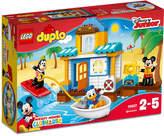 Lego Duplo 48-Pc. Disney Mickey & Friends Beach House
