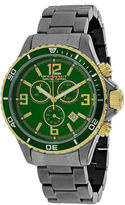 Oceanaut Mens Baltica Green Dial and Gunmetal Stainless Steel Watch OC8337