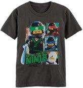 "Boys 4-7 LEGO Ninjago ""Anyone Can Be A Ninja"" Graphic Tee"