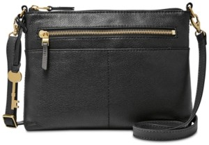 Fossil Fiona East West Leather Crossbody