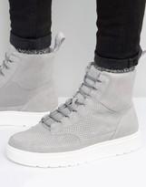Dr. Martens Kamar Suede Hi Top Sneakers