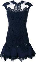 Jonathan Simkhai macrame lace mini dress - women - Polyester/Spandex/Elastane/Acetate/Viscose - 0