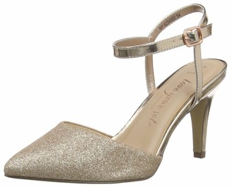 New Look Women's WF RARKLE 3 IC-PNT GLTR CRT 80:94:S206 Closed Toe Heels