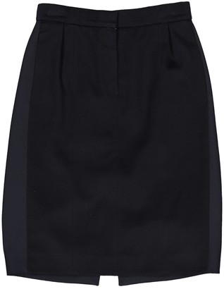 Louis Vuitton Blue Cashmere Skirt for Women