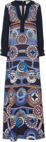 Peter Pilotto Attica printed cady maxi dress