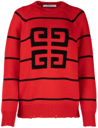 Givenchy 4G Logo Knitted Sweater