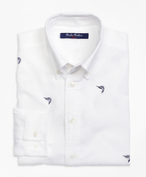 Brooks Brothers Embroidered Sport Shirt
