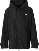 Burberry Logo Graphic Shape-memory Taffeta Hooded Jacket