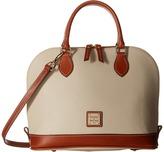 Dooney & Bourke Pebble Leather New Colors Zip Zip Satchel