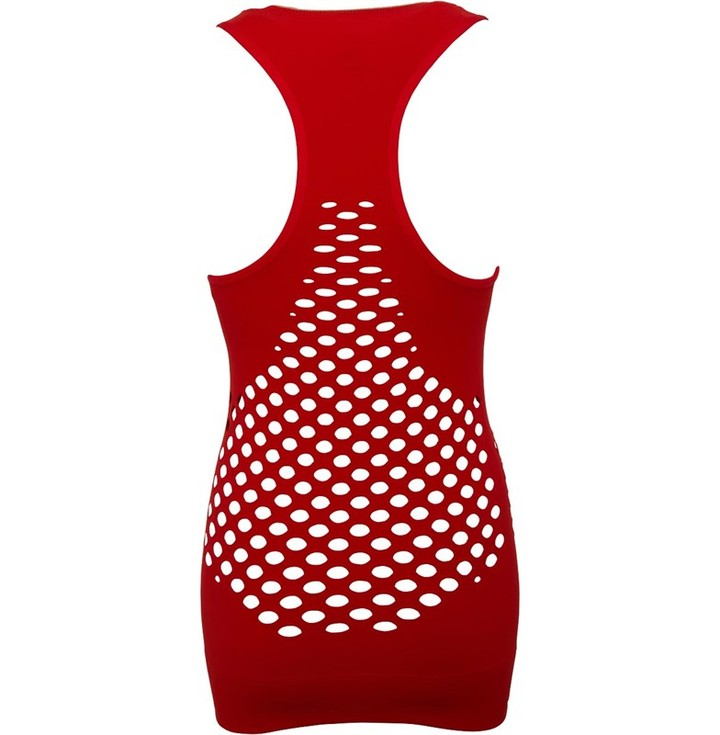 Thumbnail for your product : adidas Womens Court Seamless Tennis Tank Top Active Red