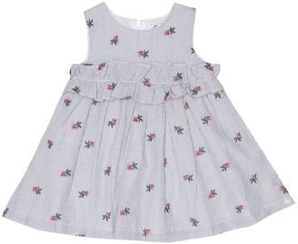 Tartine et Chocolat Baby striped stretch-cotton dress