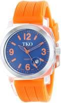 Tko TKO ORLOGI Women's TK558-OR Milano Junior Acrylic Case Orange Dial Watch