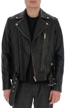 Golden Goose Ryan Biker Leather Jacket